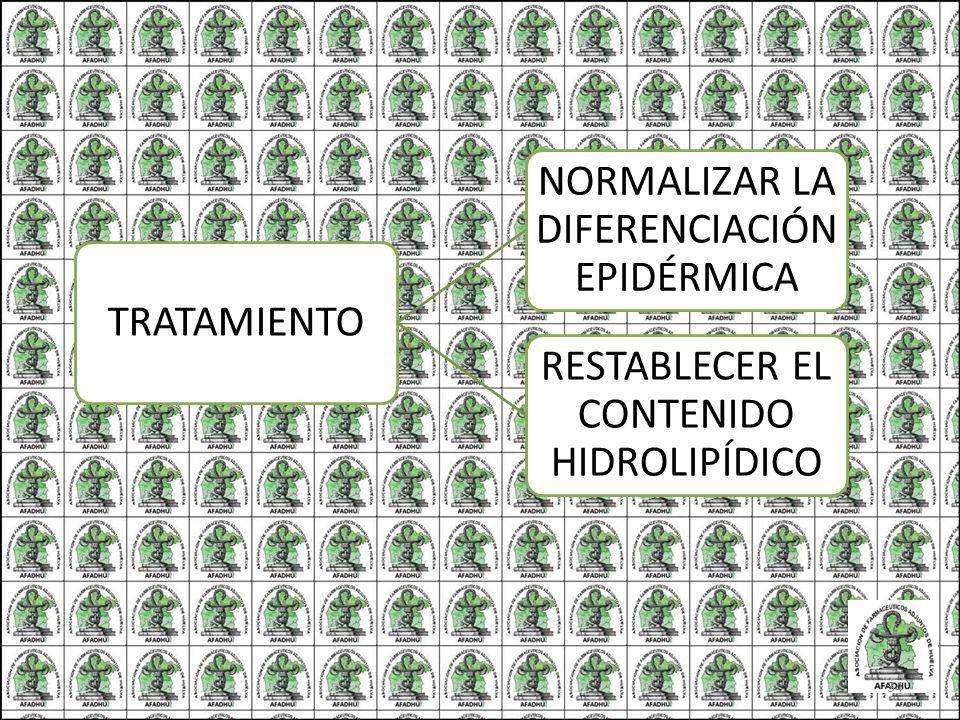 NORMALIZAR LA DIFERENCIACIÓN EPIDÉRMICA
