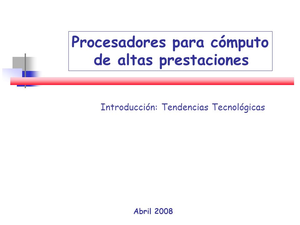 Introducción: Tendencias Tecnológicas