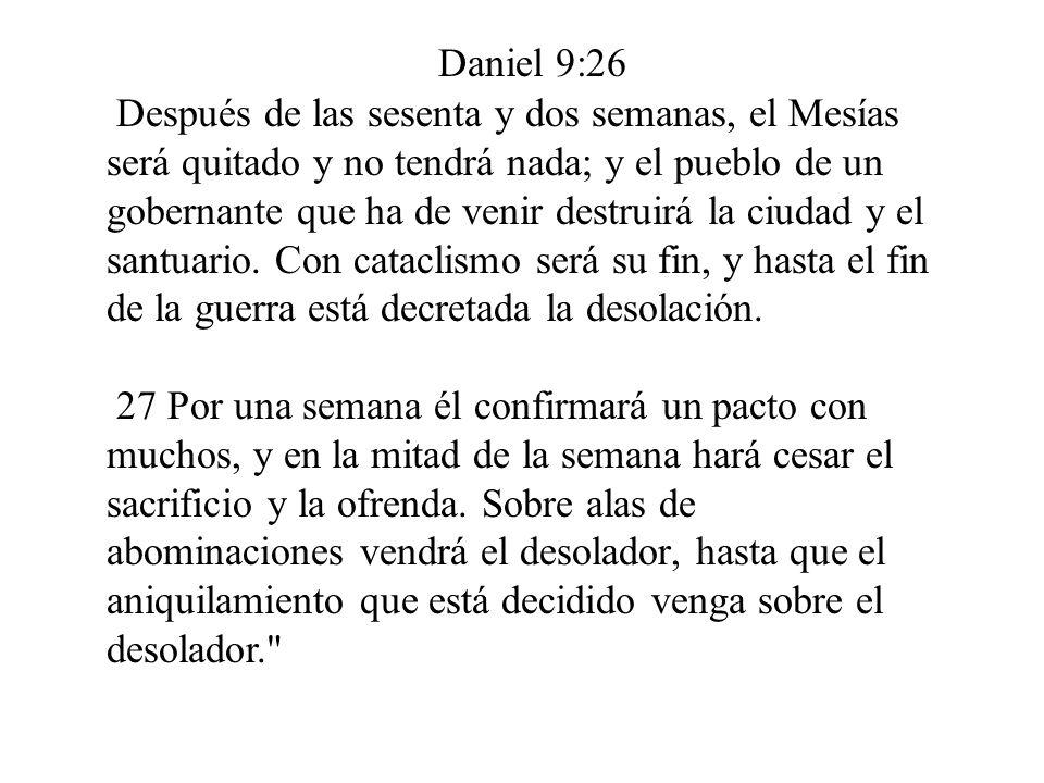 Daniel 9:26