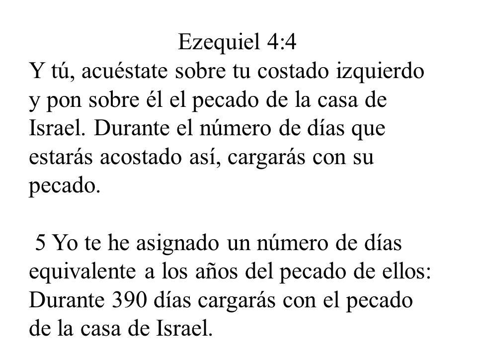 Ezequiel 4:4