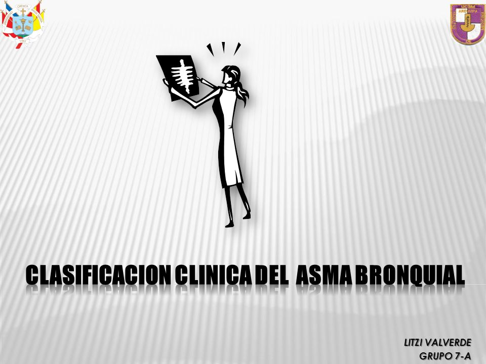 CLASIFICACION CLINICA DEL ASMA BRONQUIAL