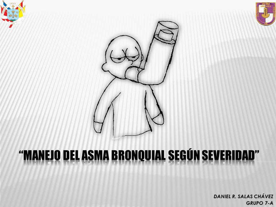 MANEJO DEL ASMA BRONQUIAL SEGÚN SEVERIDAD