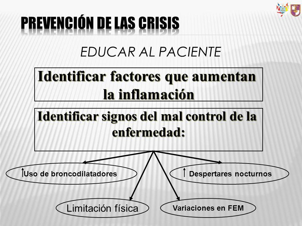 PREVENCIÓN DE LAS CRISIS