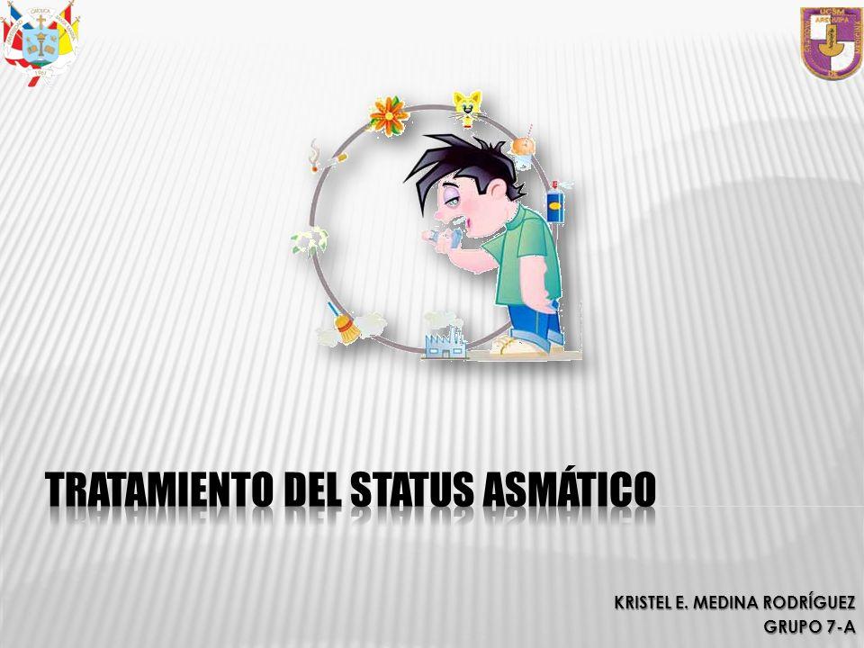 Tratamiento del Status Asmático
