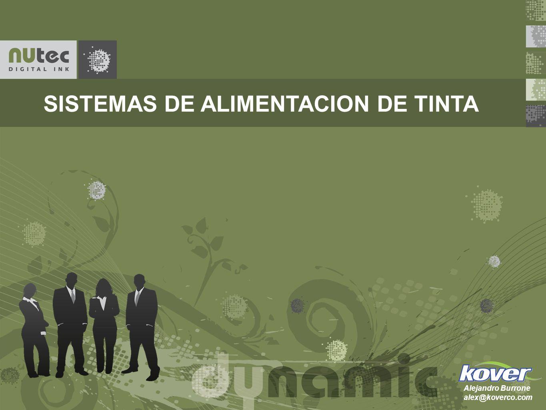 SISTEMAS DE ALIMENTACION DE TINTA