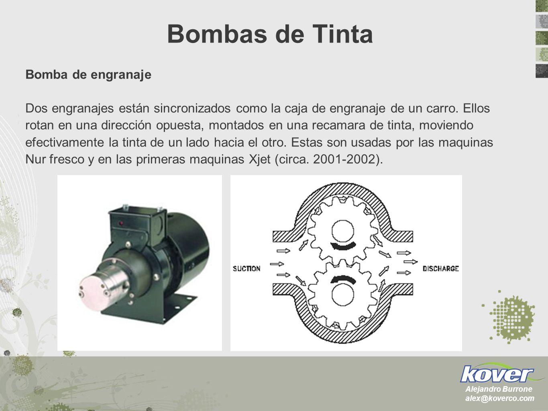 Bombas de Tinta Bomba de engranaje