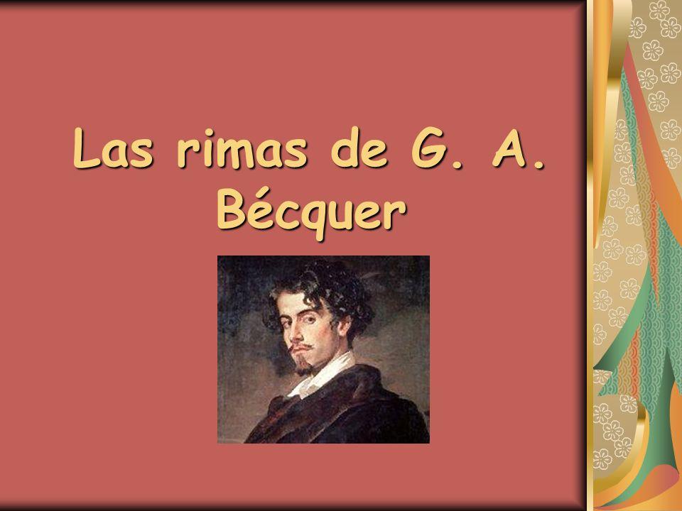 Las rimas de G. A. Bécquer