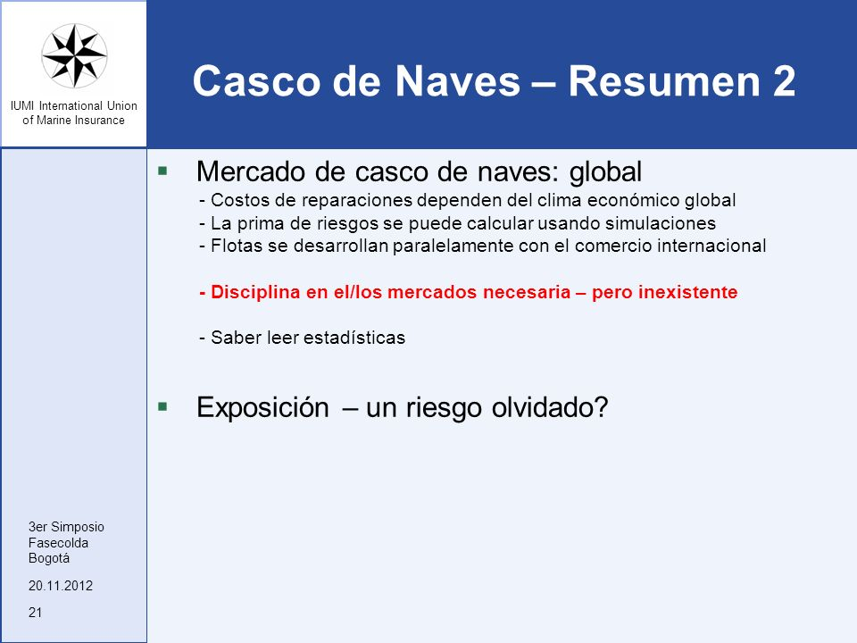 Casco de Naves – Resumen 2