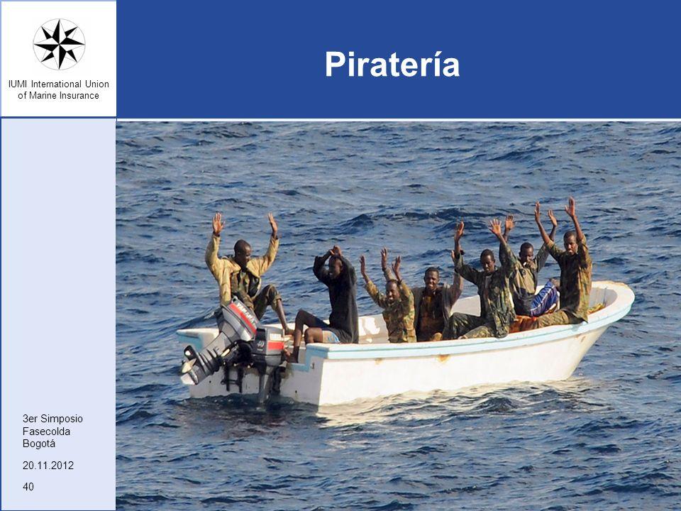 Piratería 3er Simposio Fasecolda Bogotá 20.11.2012