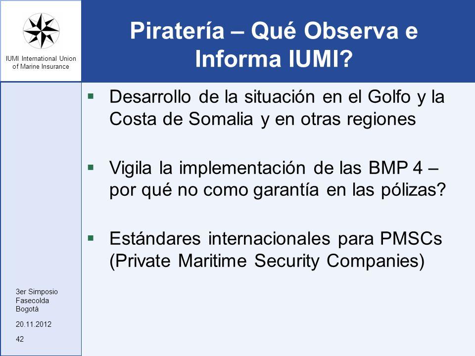 Piratería – Qué Observa e Informa IUMI