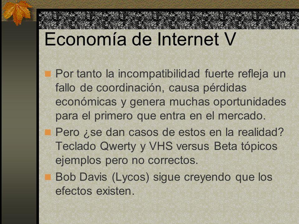 Economía de Internet V