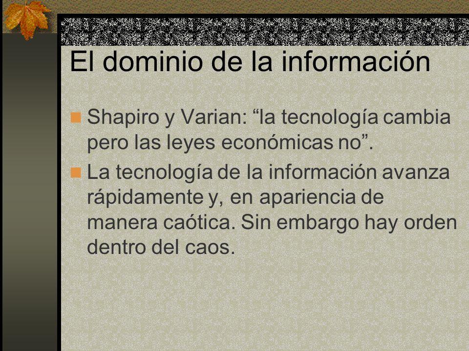 El dominio de la información