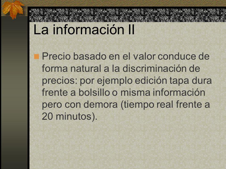 La información II