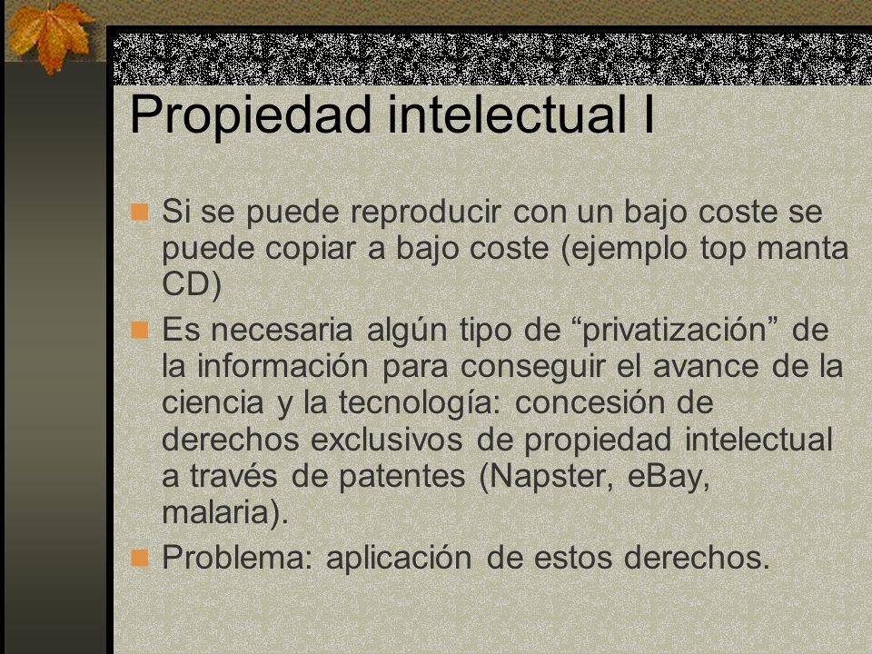Propiedad intelectual I