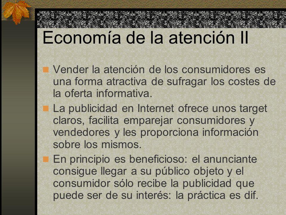 Economía de la atención II
