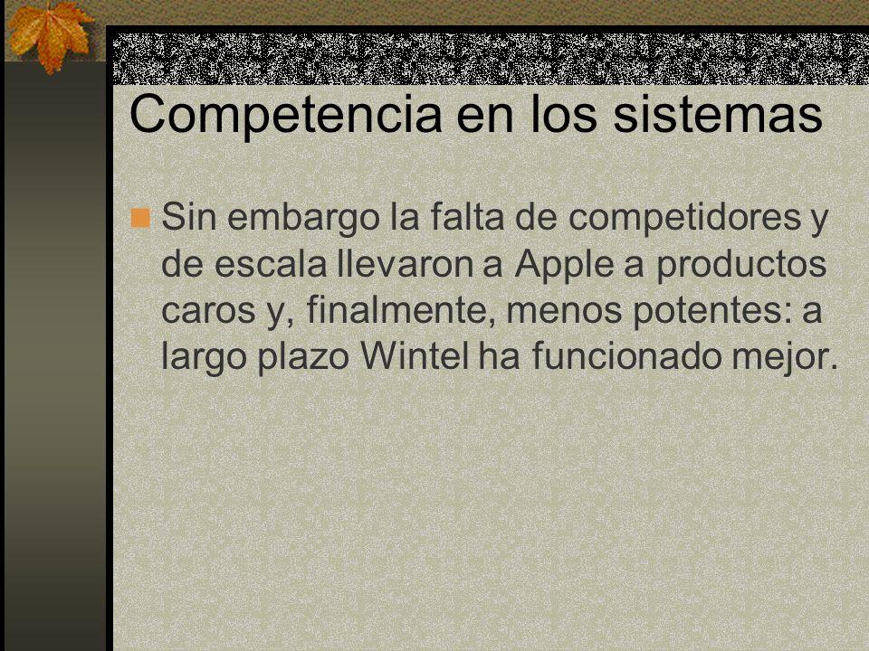 Competencia en los sistemas
