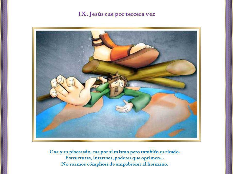 IX. Jesús cae por tercera vez