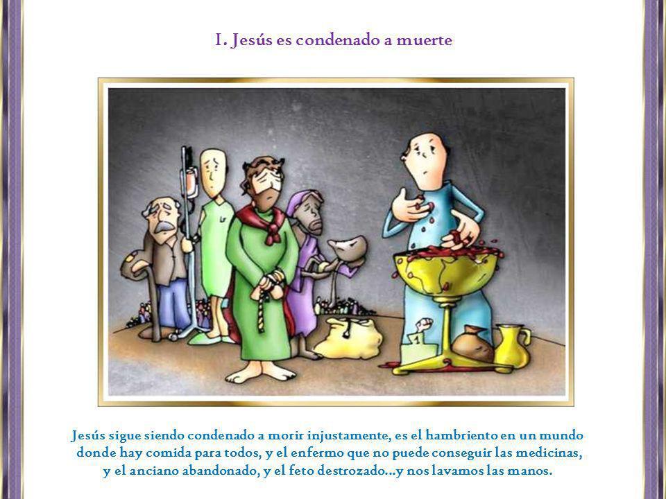 I. Jesús es condenado a muerte