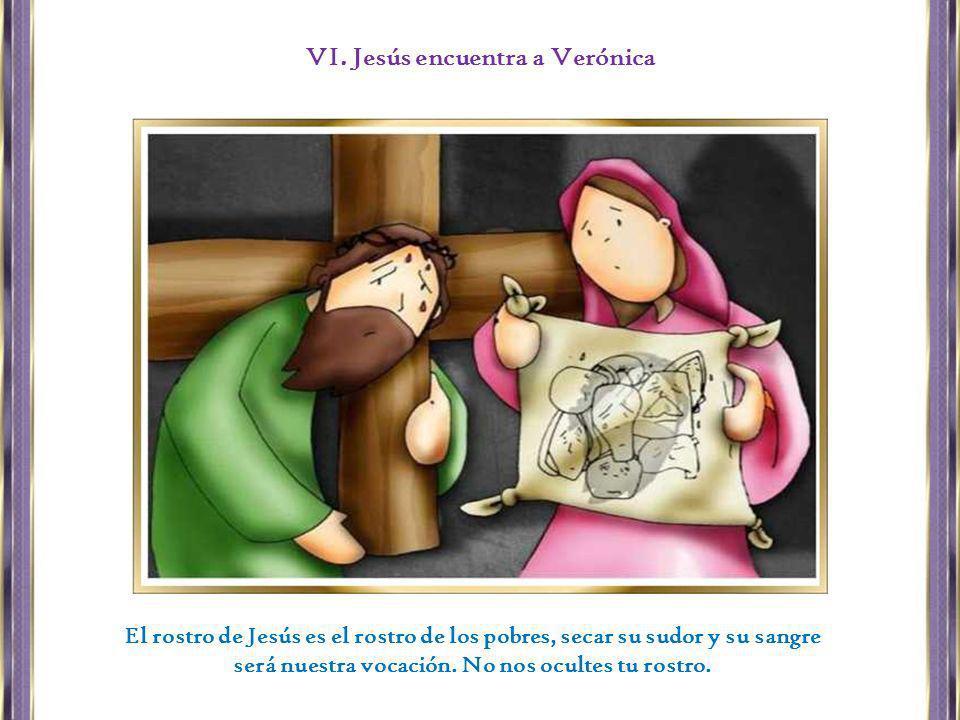 VI. Jesús encuentra a Verónica