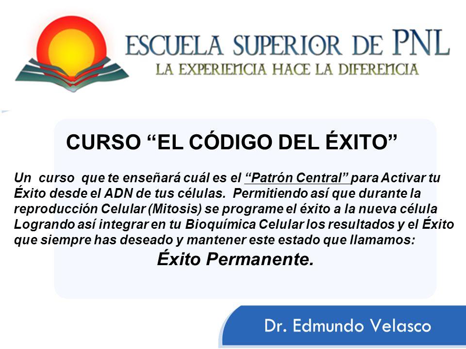 CURSO EL CÓDIGO DEL ÉXITO