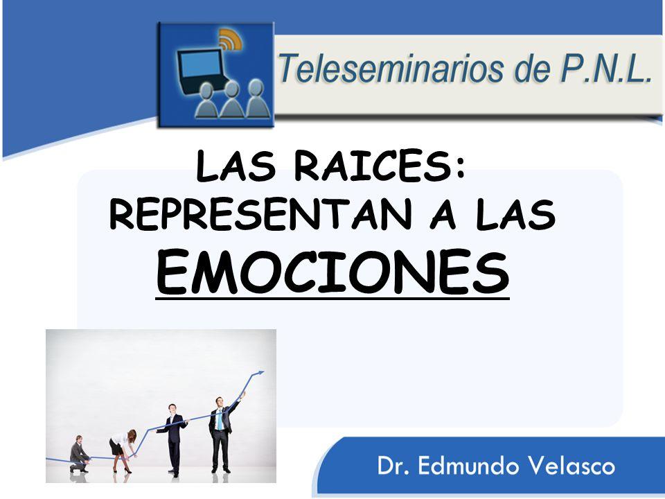 LAS RAICES: REPRESENTAN A LAS EMOCIONES