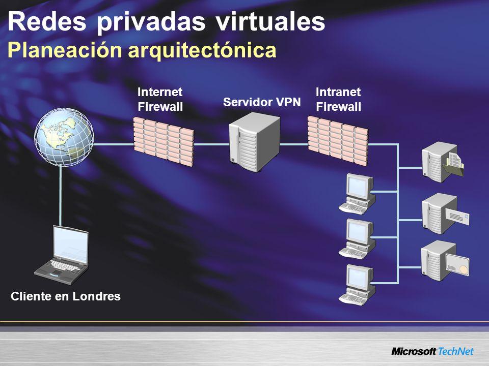 Redes privadas virtuales Planeación arquitectónica