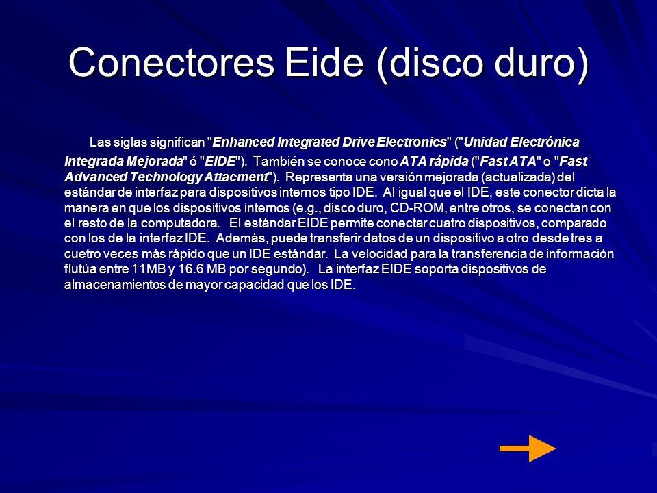 Conectores Eide (disco duro)