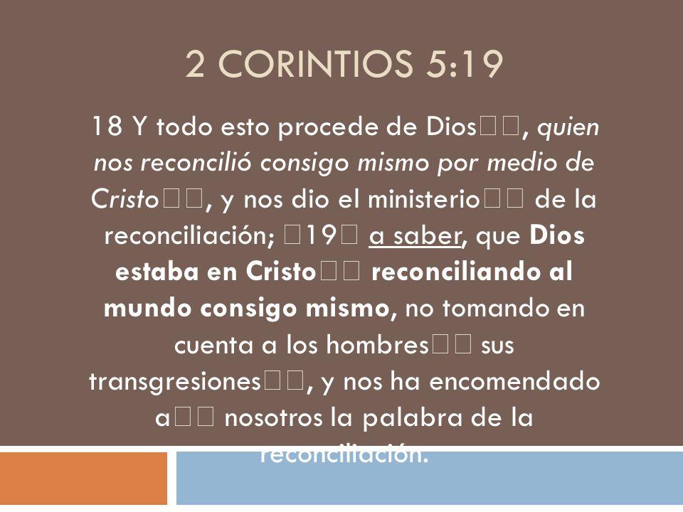 2 Corintios 5:19