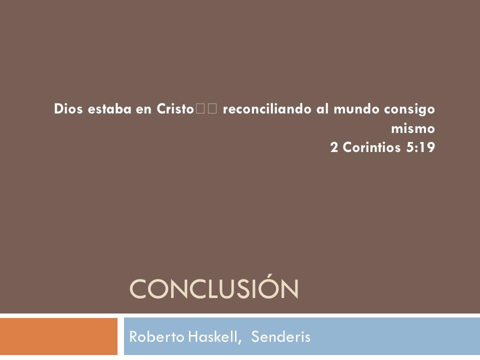 Roberto Haskell, Senderis