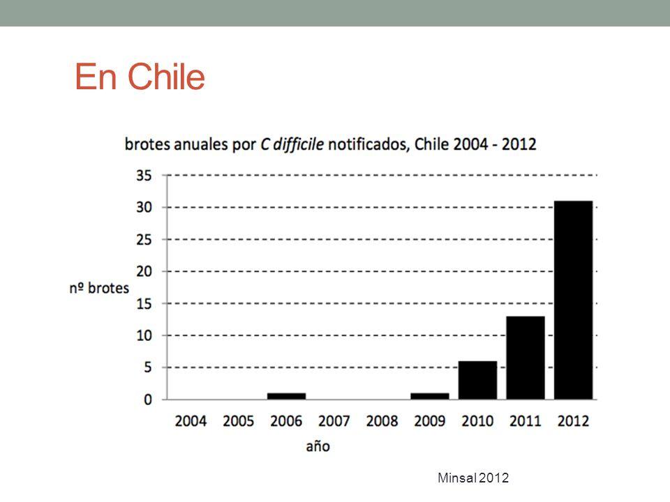 En Chile Minsal 2012