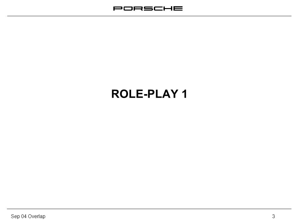 ROLE-PLAY 1