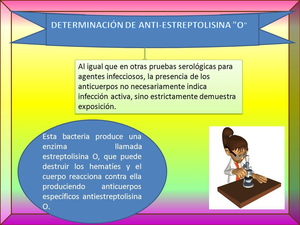 DETERMINACIÓN DE ANTI-ESTREPTOLISINA O