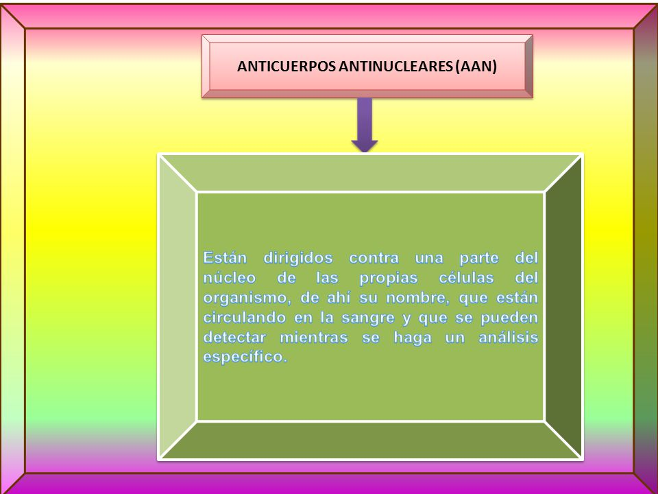 ANTICUERPOS ANTINUCLEARES (AAN)