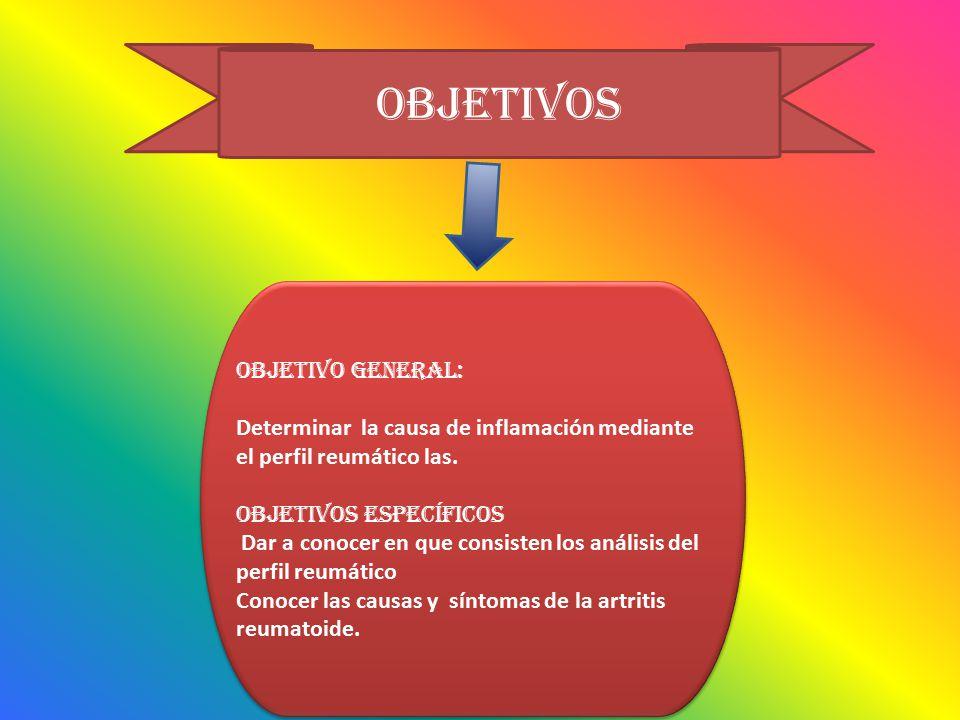 objetivos OBJETIVO GENERAL: