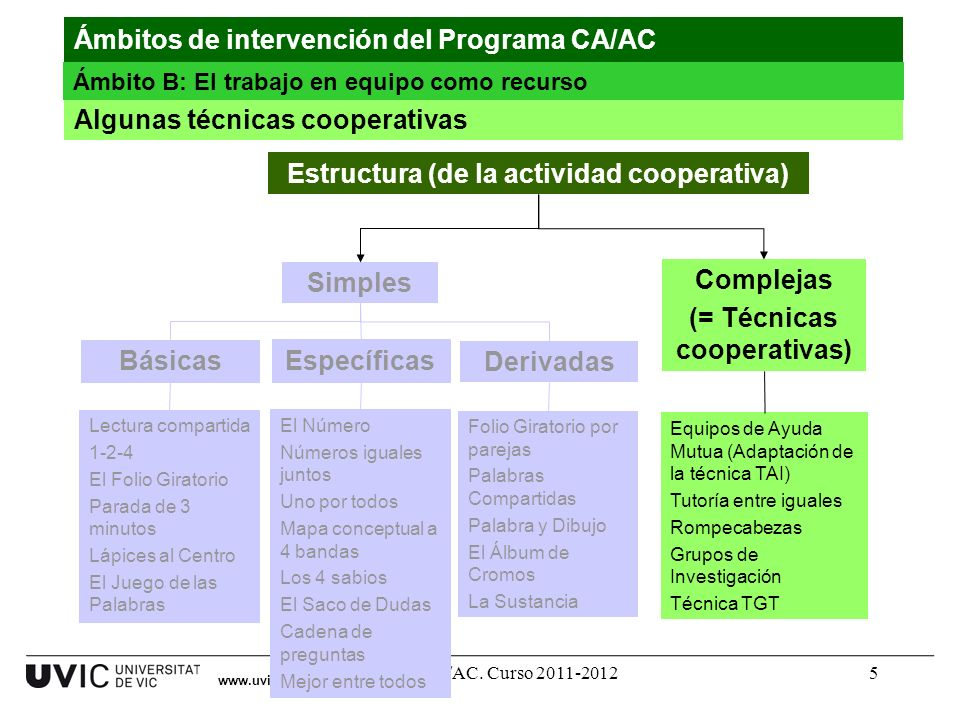 Estructura (de la actividad cooperativa)