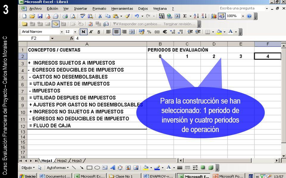 Construcci n del flujo de caja del proyecto ppt descargar for Proyecto de construccion de aulas de clases