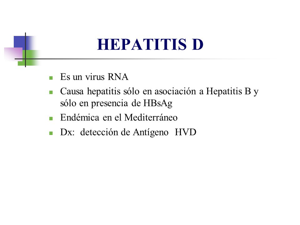 HEPATITIS D Es un virus RNA