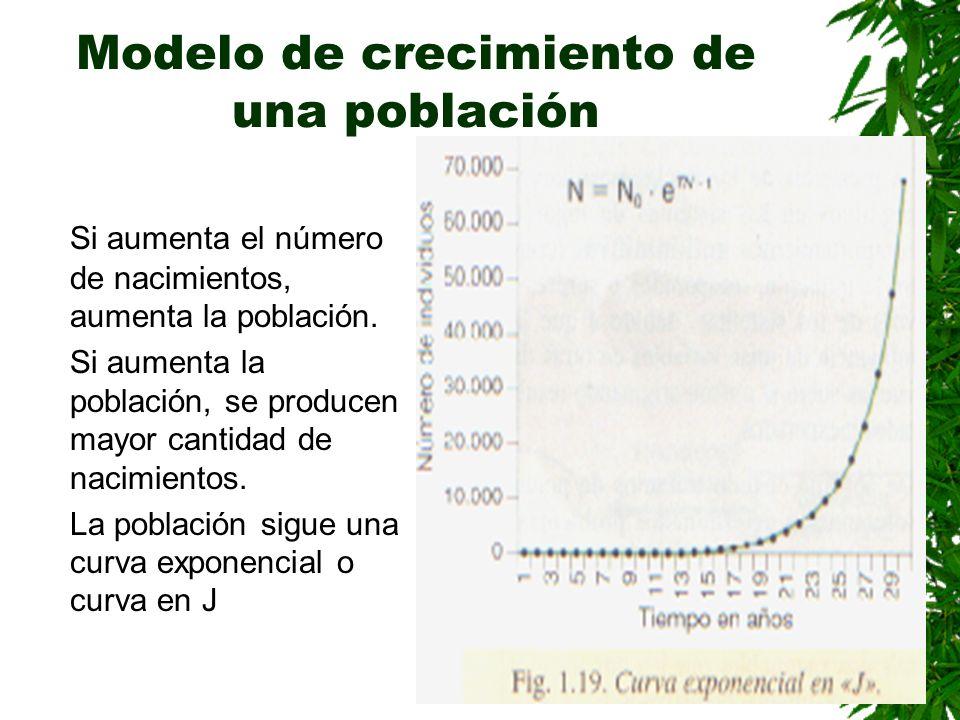 Modelo de crecimiento de una población
