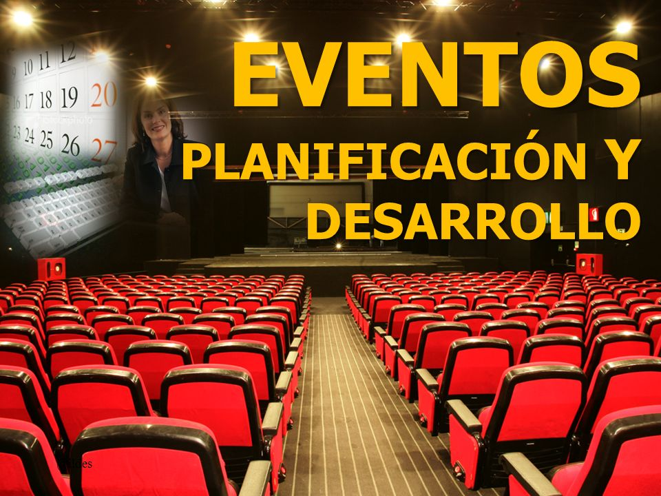 EVENTOS PLANIFICACIÓN Y DESARROLLO