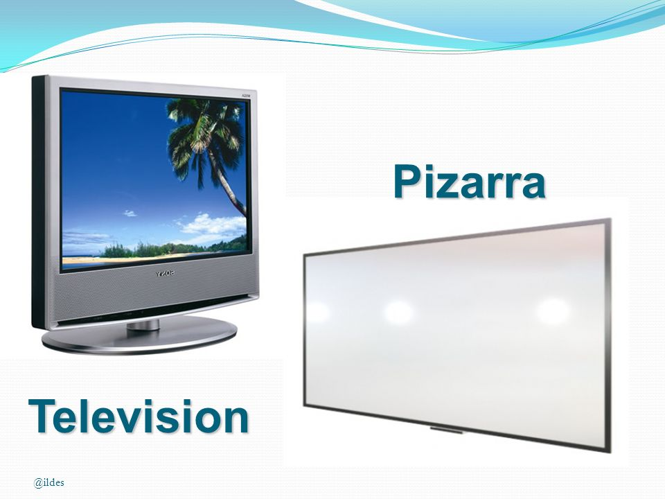 Pizarra Television @ildes