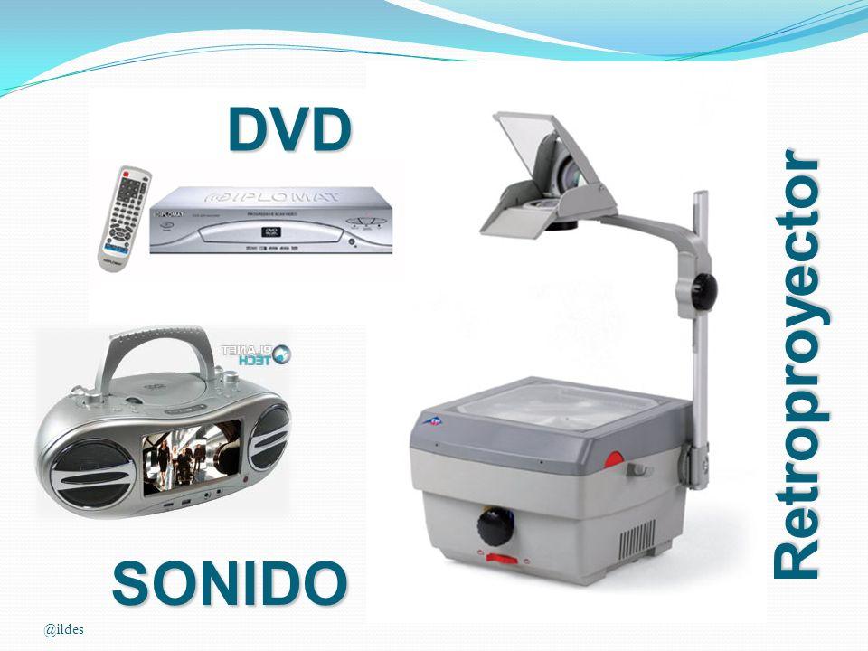DVD Retroproyector SONIDO @ildes