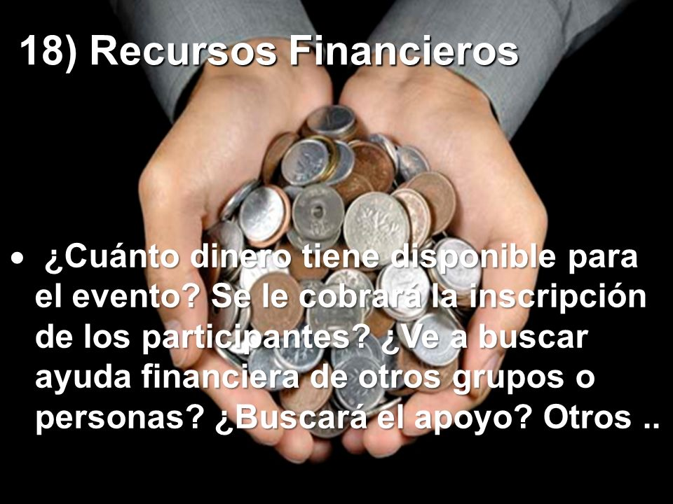 18) Recursos Financieros