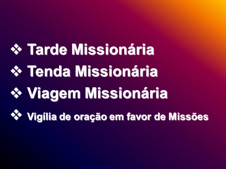 Vigília de oração em favor de Missões