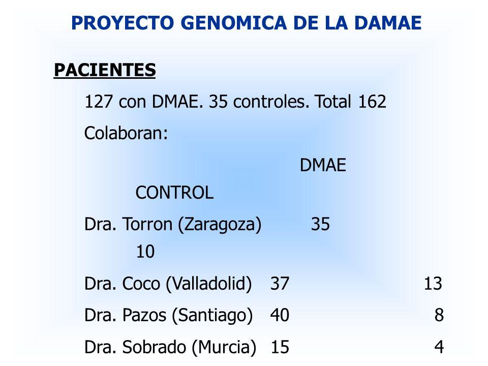 PROYECTO GENOMICA DE LA DAMAE