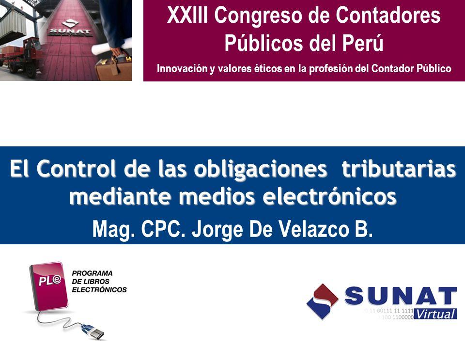 XXIII Congreso de Contadores Públicos del Perú