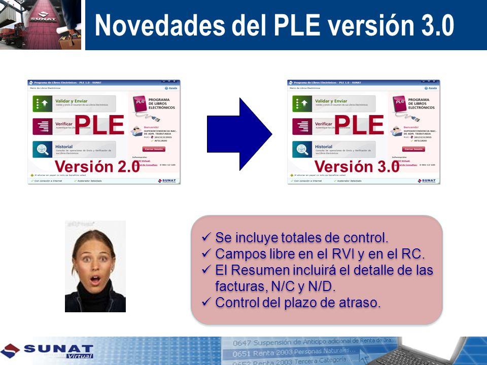 Novedades del PLE versión 3.0