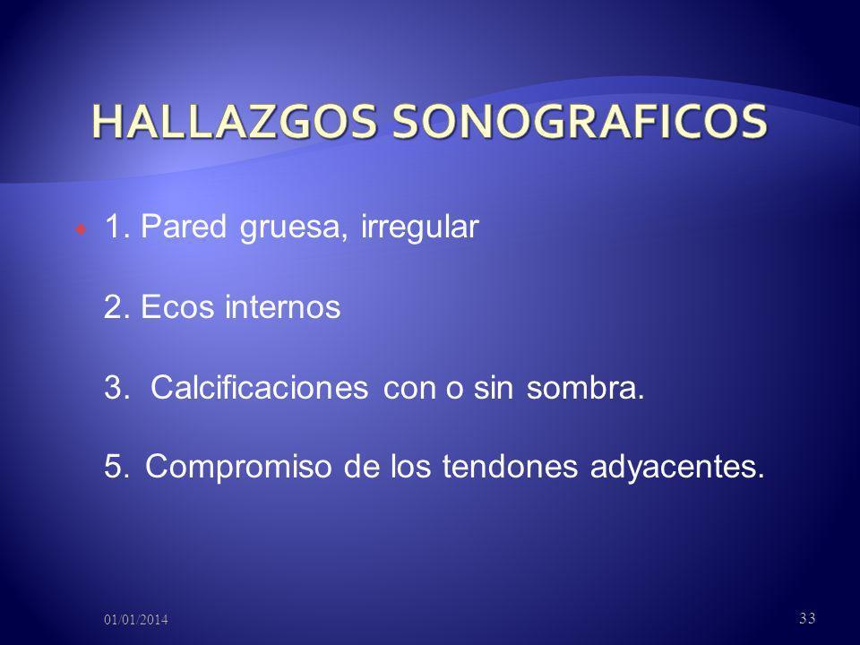 HALLAZGOS SONOGRAFICOS