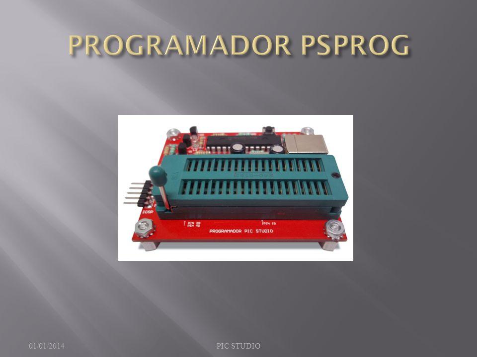 PROGRAMADOR PSPROG 23/03/2017 PIC STUDIO