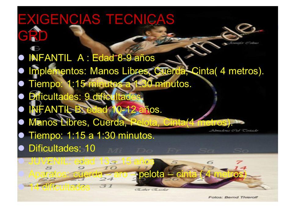 EXIGENCIAS TECNICAS GRD