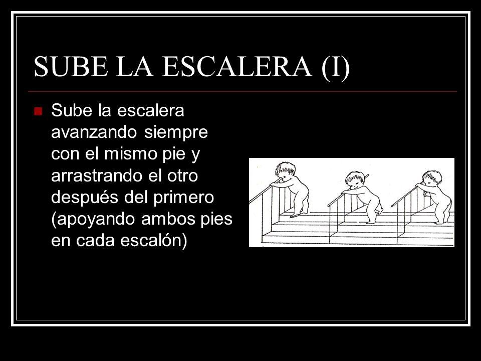 SUBE LA ESCALERA (I)